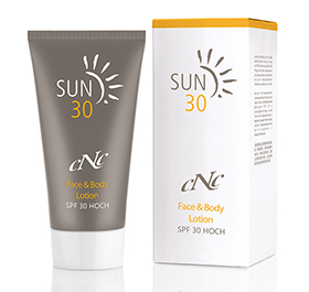 cNc Sun Face & Body Lotion SPF30, 150 ml