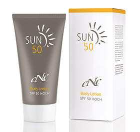 cNc Sun Body Lotion SPF 50, 150 ml