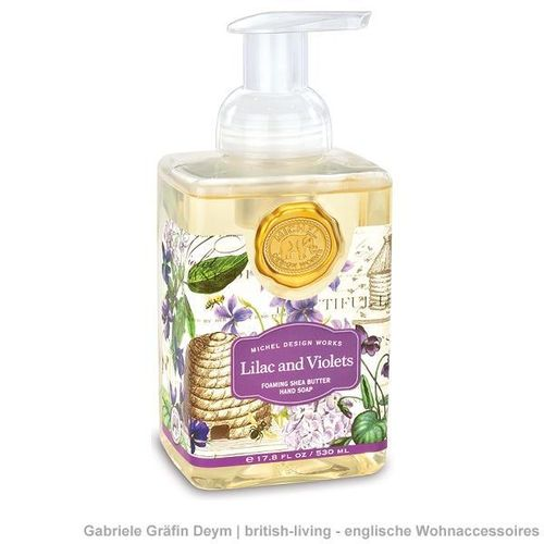 Seifenschaum LILAC AND VIOLETS 530ml